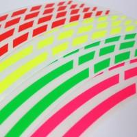 Felgenrandaufkleber GP Design NEON