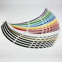 Felgenrandaufkleber GP Design