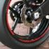 Kawasaki Felgenrandaufkleber